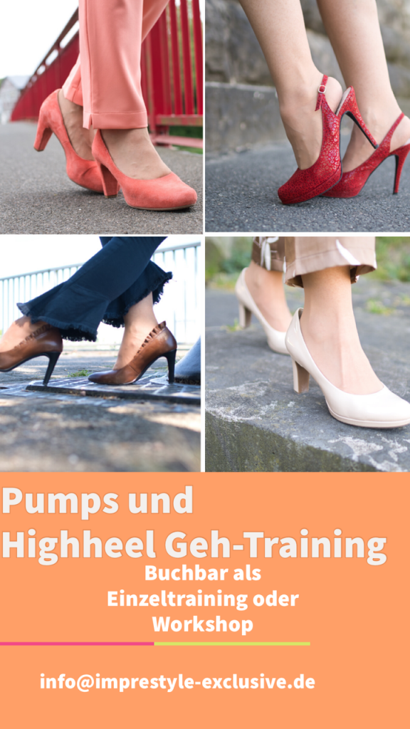 Pumps- und Highheel-Gehtraining