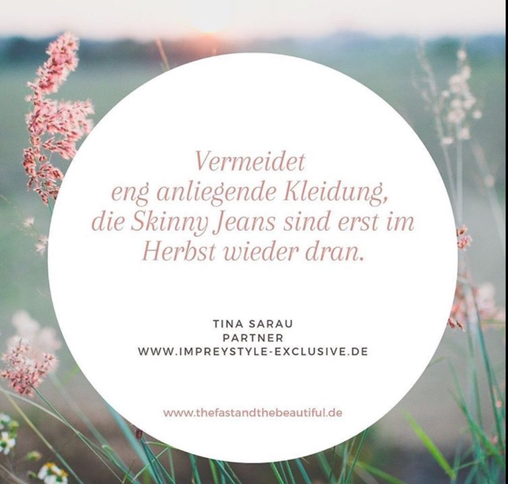 Quick-Style-Tipp Sommer